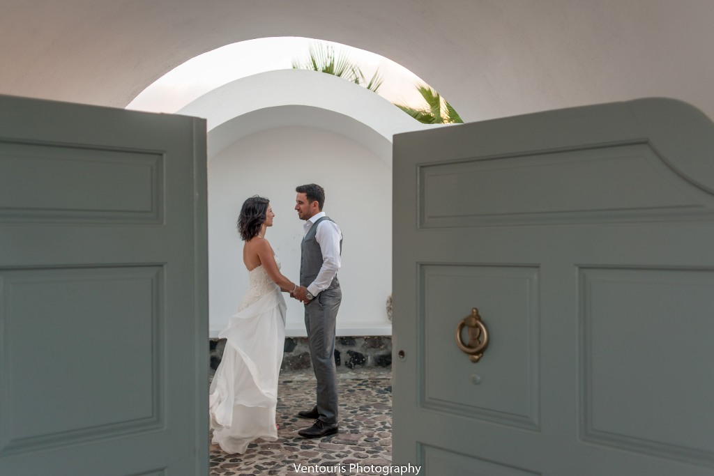 Lovwed Lovweddings Santorini Greece Caroline Chris Outdoorwedding Gem14