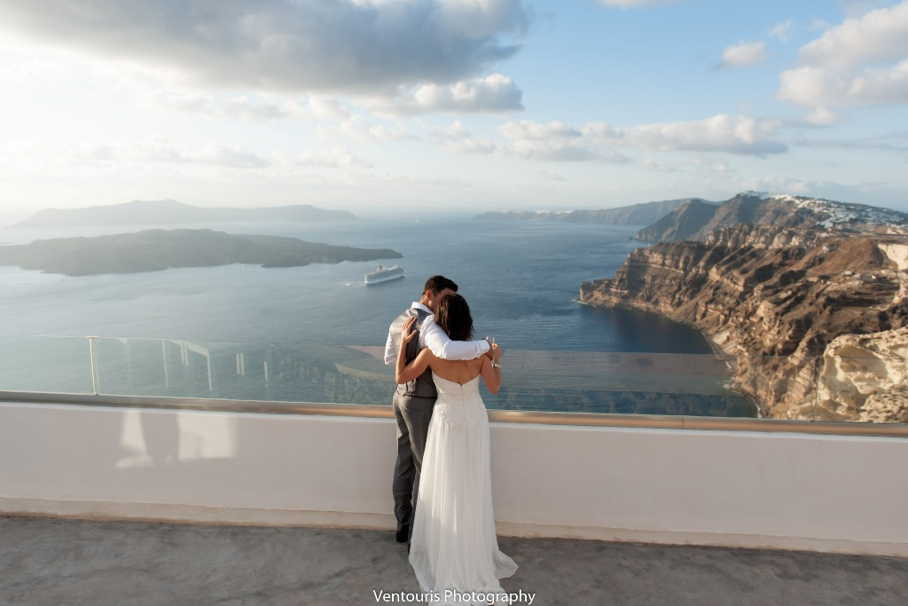 Lovwed Lovweddings Santorini Greece Caroline Chris Outdoorwedding Gem25