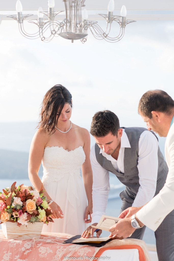 Lovwed Lovweddings Santorini Greece Caroline Chris Outdoorwedding Gem27