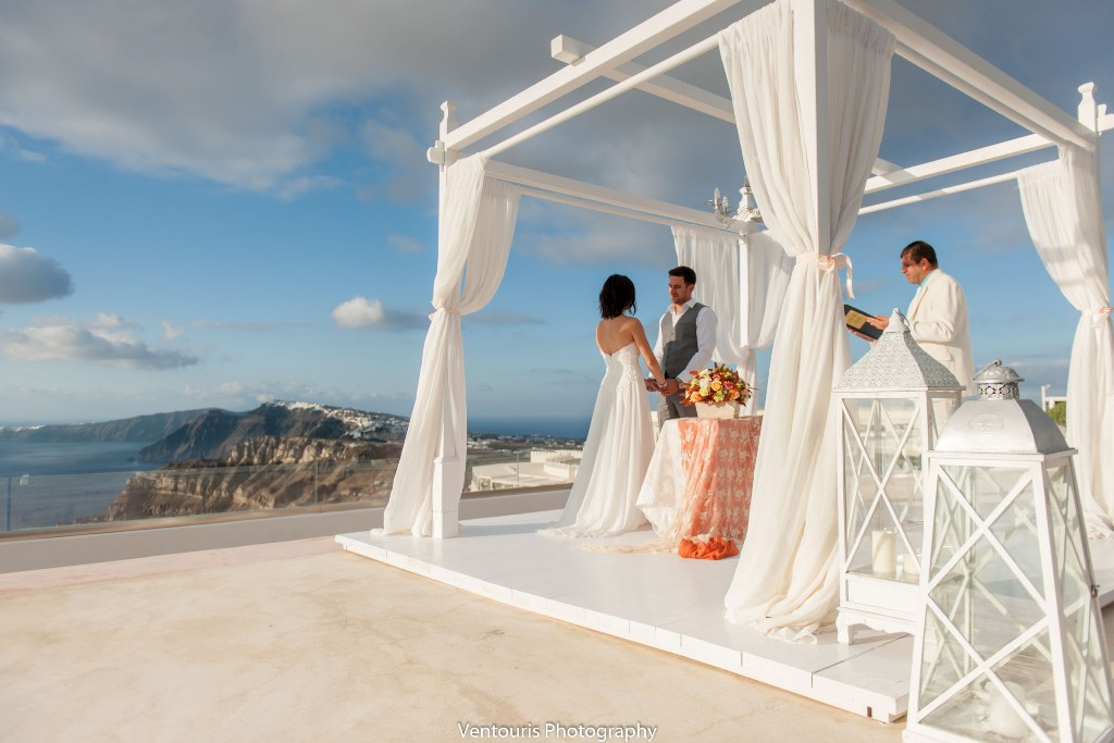Lovwed Lovweddings Santorini Greece Caroline Chris Outdoorwedding Gem33