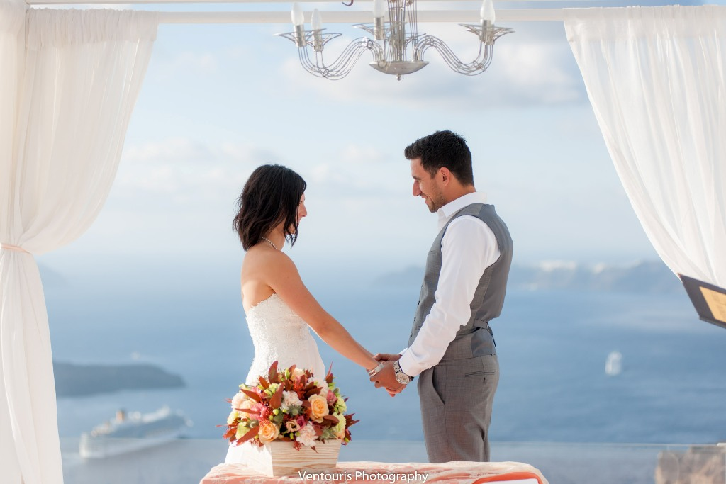 Lovwed Lovweddings Santorini Greece Caroline Chris Outdoorwedding Gem34
