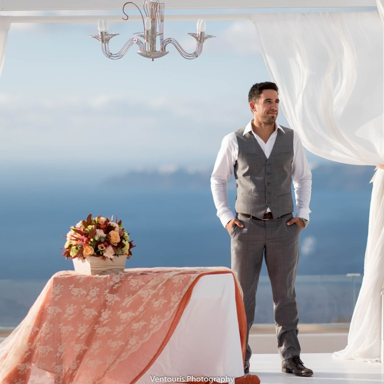 Lovwed Lovweddings Santorini Greece Caroline Chris Outdoorwedding Gem36