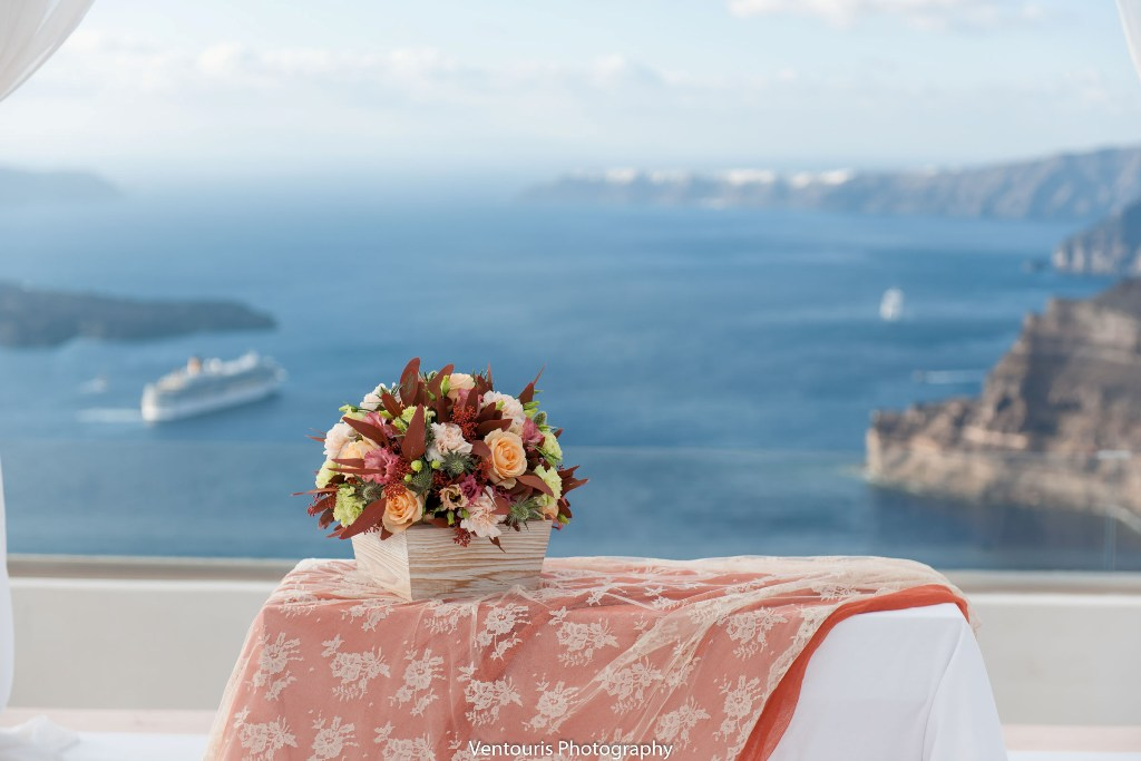 Lovwed Lovweddings Santorini Greece Caroline Chris Outdoorwedding Gem41