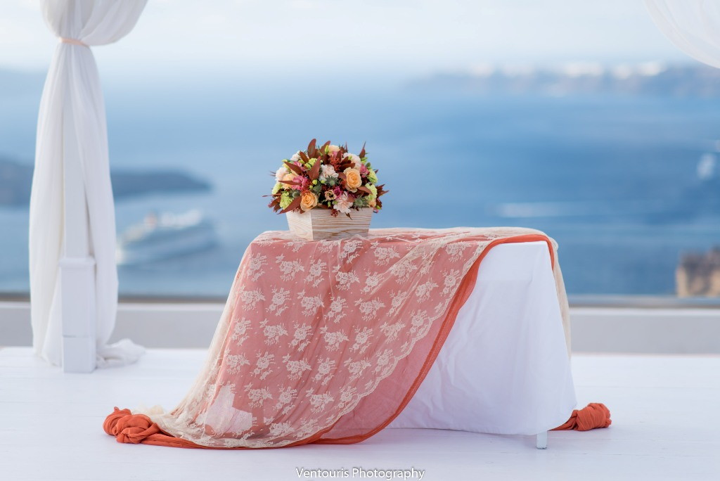 Lovwed Lovweddings Santorini Greece Caroline Chris Outdoorwedding Gem44